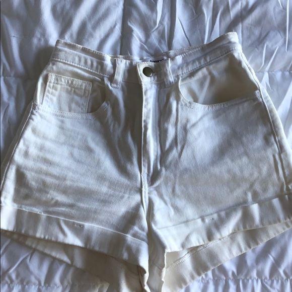 American Apparel Pants - American Apparel High-Waisted Shorts - 3 Pairs